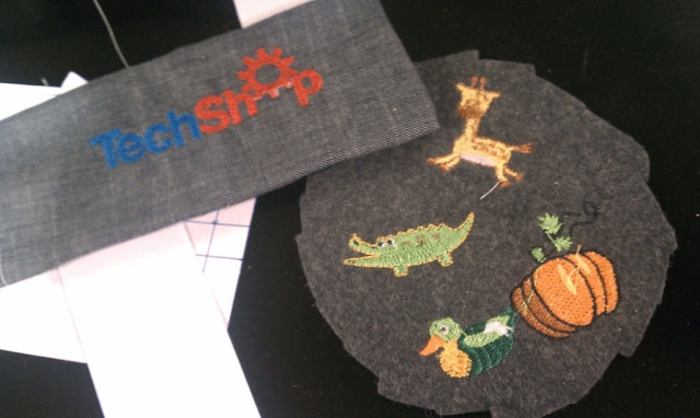TS_Sewing CNC Embroidery