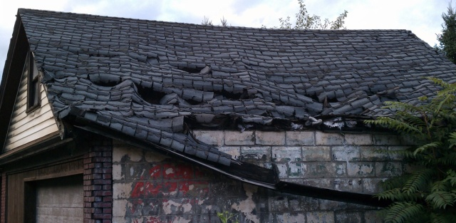 Roof Fail - Evergreen