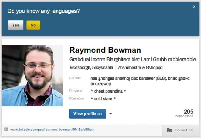 LinkedIn_no language